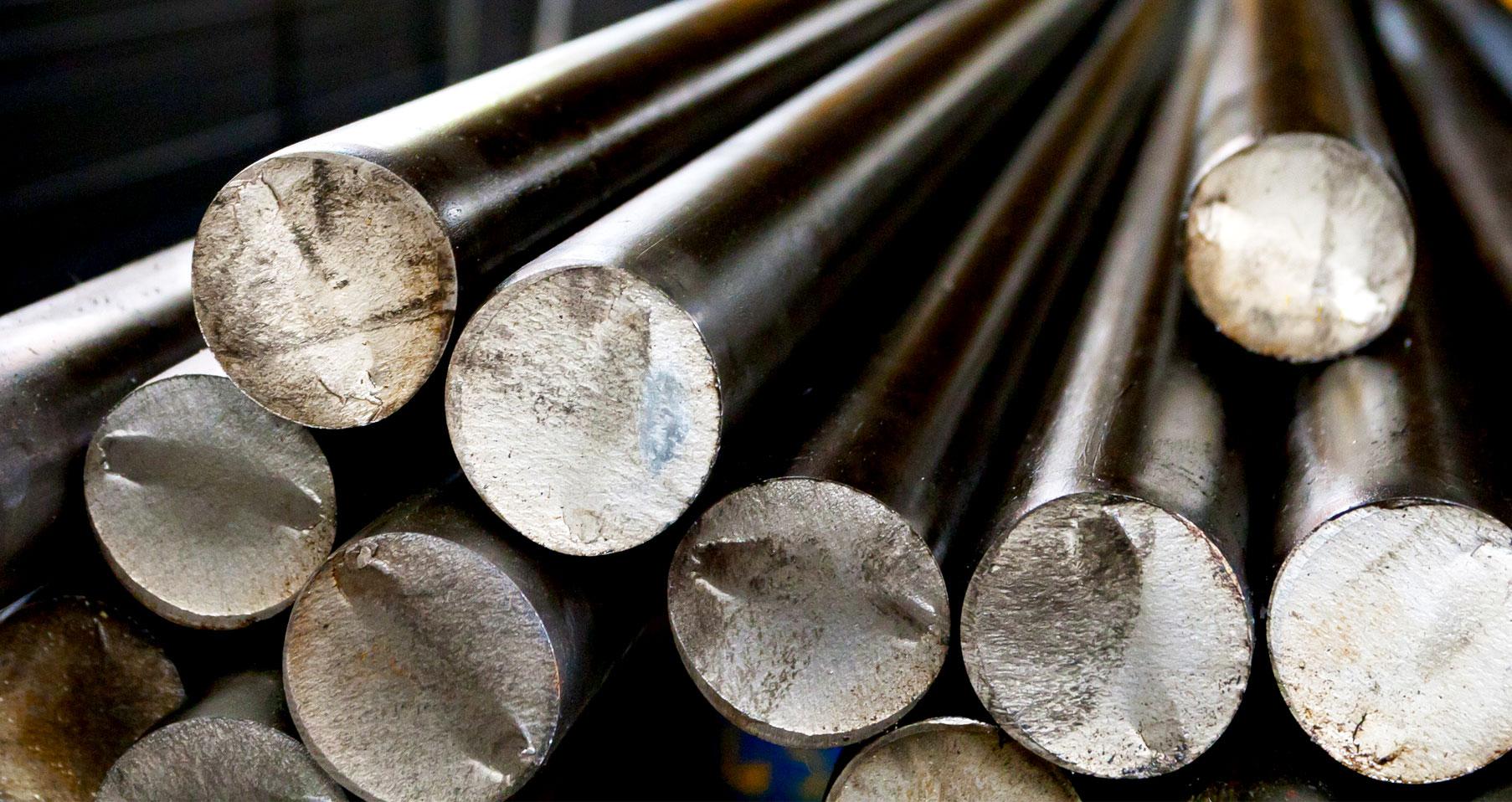 tubi tondi in magazzino presso Vicini Tubi spa Firenze prodotti siderurgici e tubi strutturali