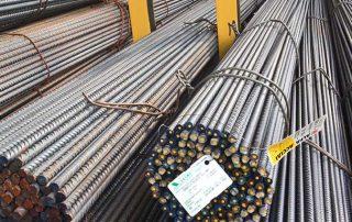barre tonde di Vicini Spa prodotti siderurgici e tubi strutturali Firenze